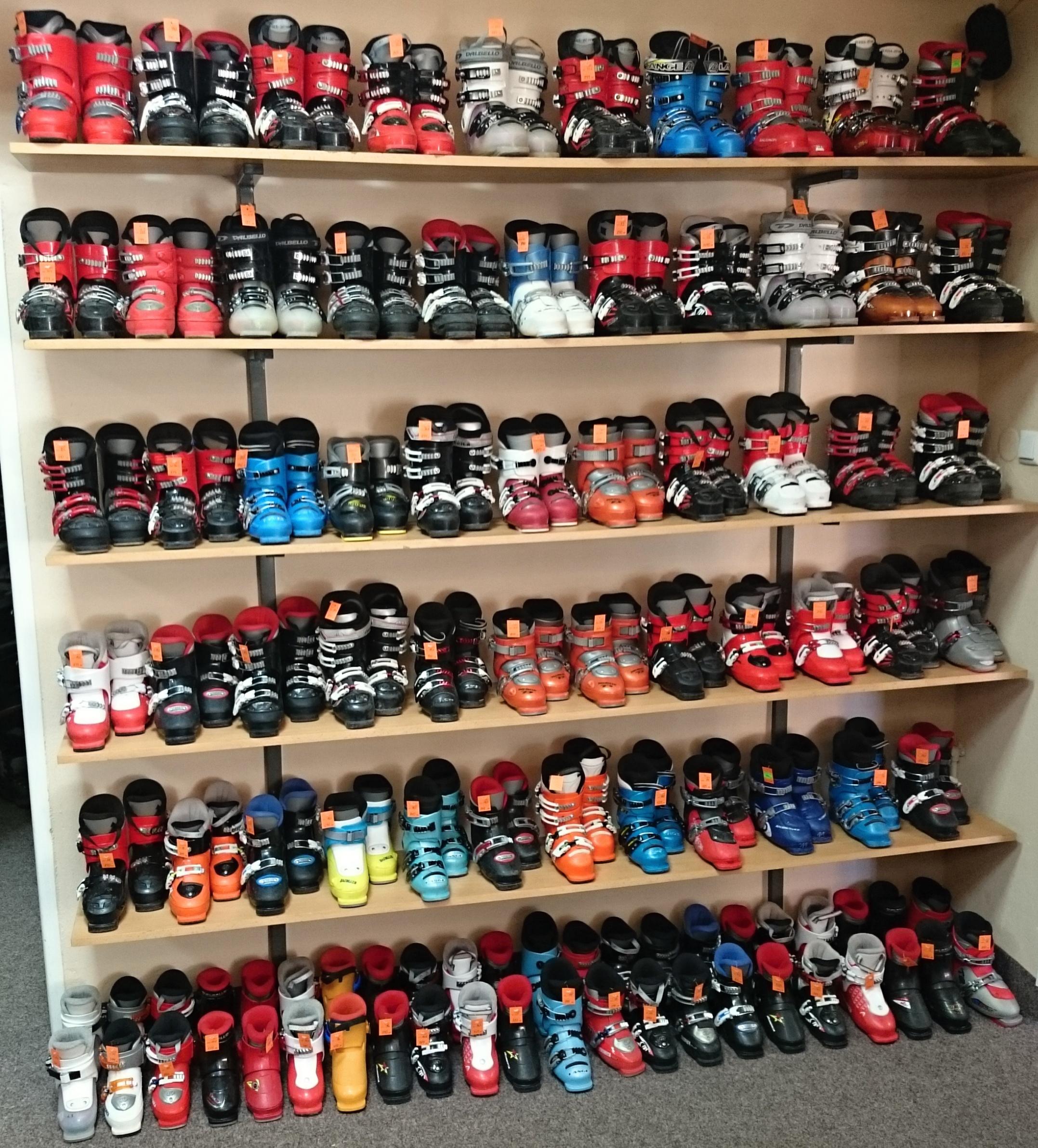 boty bazarové dětské